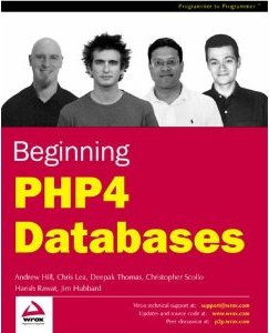 Beginning PHP4 Databases book cover